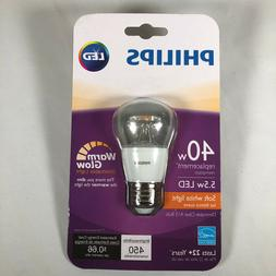 Philips 40W Replacement A15 Dimmable LED Light Bulb Soft Whi