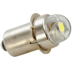 45 Lumens 0.5w LED Bulb for Mag-Lite Magnum Star, White Star