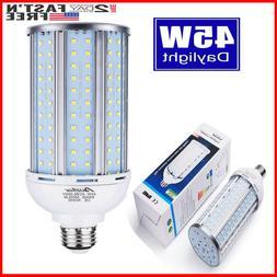 45 Watt LED Corn Light Bulb,4500 lumens 300 Watt Equivalent