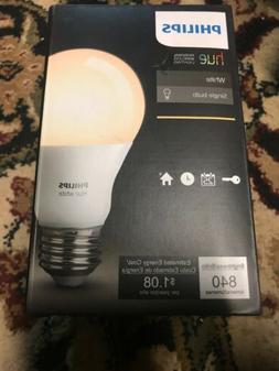 Philips 455295 HueWhite A19 Single LED Bulb 840 Lumen 9W 270