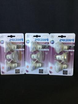Philips 465054 50W Equivalent LED Bright White GU10 Bulb 3Pk
