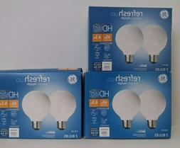 GE 47659 Refresh HD Dimmable LED Light Bulb, 4.5 Watts