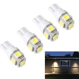 4x T5 T10 LED bulb 12V AC/DC For Low Voltage Mailibu Deck St