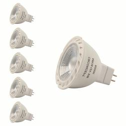CBConcept 5-Pack 5 Watt 500 Lumen MR16 GU5.3 LED Bulbs Pure