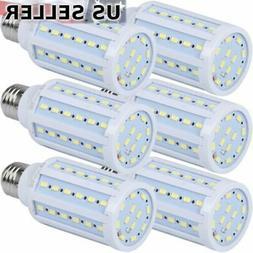 6-Pack 75W Eq. LED Bulb 60-Chip Corn Light E26 1100lm 10W Co
