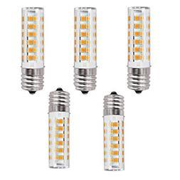 5 Pack E17 LED Light Bulb Over Counter Microwave Oven Light