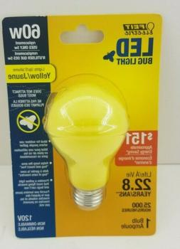 FEIT Electric 5 watts A19 LED Bulb 400 lumens Yellow A-Line