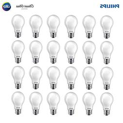 Philips 545921 LED Classic Glass Non-Dimmable A19 Light Bulb