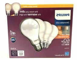 Philips 548396 A-Line A19 LED Bulb, Frosted, 8.8 Watts, 800