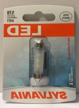 SYLVANIA 578 41mm Festoon White LED Automotive Bulb