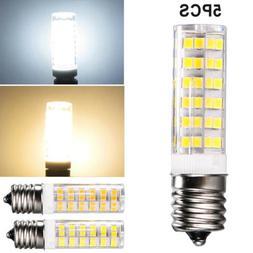 5x 7W E17 LED Light Bulb Intermediate Base For Microwave Flo