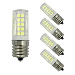 5pcs E17 Intermediate Base LED bulb 64-2835SMD Ceramics Ligh