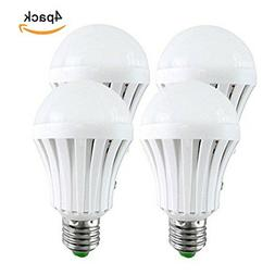 5pcs E27 Emergency LED Light Bulb Rechargeable Intelligent L