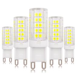 5pcs G9 Dimmable LED Light Bulb 64-2835 Lamp Ceramics Lights