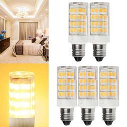 5PCS Led E11 Bulbs Dimmable Candelabra Base Mini E11 LED Bul