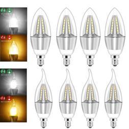 5W E12 LED Chandelier Light Bulb Filament Candelabra Bulb CO