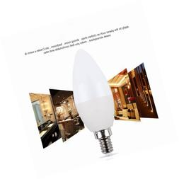 CTKcom 5W E14 Base LED Candelabra Bulbs- 60Watt Light Bulbs