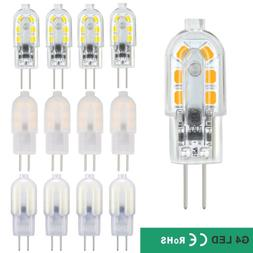 5W G4 LED Bulb Bi-Pin Base 40W Halogen Bulb Equivalent AC/DC