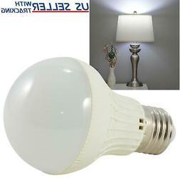 5W LED Cool Daylight White Standard Light Bulb E26 6000K 450