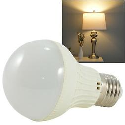 5W LED Warm White Standard Light Bulb E26 3000K 450lm 40W Eq