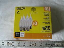 NEW Filament LED B11 Flame Tip Bulb 2.5w  Soft White 2700K