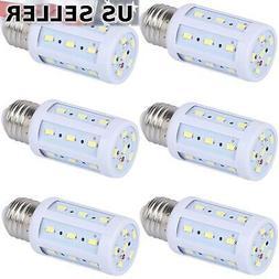 6-Pack 40W Eq. LED Bulb 24-Chip Corn Light E26 550lm 5W Cool