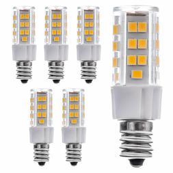 6 pack 5w e12 led bulb ac120v