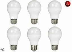 6 Pack - LED 100 Watt Equivalent 100W 3000K A19 Warm White L