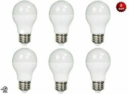 6 Pack- LED 100 Watt Equivalent 5000K 100W A19 Daylight Whit
