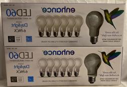 6 Pack Feit Electric LED bulb classic glass shape 60w Daylig