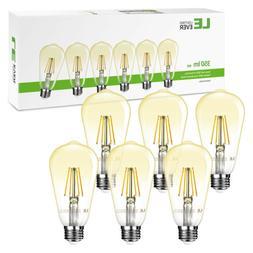 6 pack vintage st64 led edison bulb