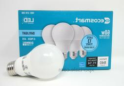 60 watt ecosmart A19 dimmable energy save star LED light bul