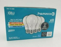EcoSmart 60-Watt Equivalent A19 Dimmable LED Light Bulb, Sel