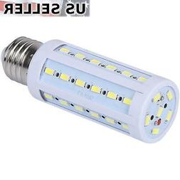 10-Pack 60W Eq. LED Bulb 42-Chip Corn Light E26 850lm 8W Coo