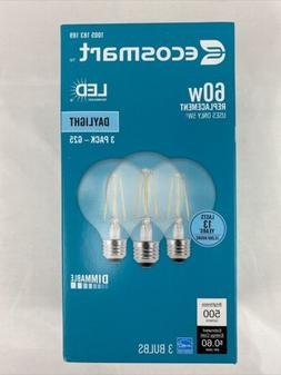 EcoSmart 60W Equiv. G25 LED Dimmable Vintage Style Light Bul