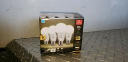 60W Equivalent Soft WHITE 3000K A19 LED Light Bulb 4 Pack E2