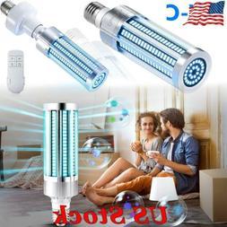 60W LED UV Germicidal Lamp UVC Bulb E26/E27 Disinfection Cor