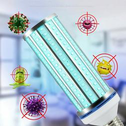 60W UV Germicidal Lamp LED UVC Bulb E27 Household Disinfecti