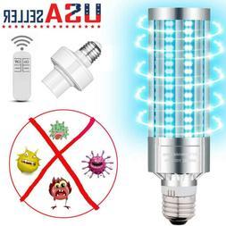 60W UV Germicidal Lamp LED UVC Bulb E27 Household Ozone Disi