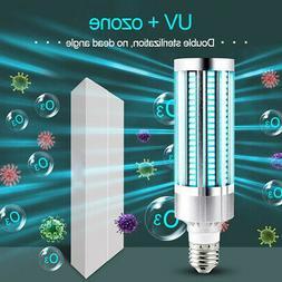 60W UV Germicidal Sterilizer Lamp LED UVC E27 Home Disinfect