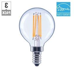 EcoSmart 60Watt G16.5 Globe Dimmable EnergyStar Vintage LED