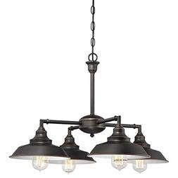 Westinghouse 6343300 Iron Hill Four-Light Indoor Convertible