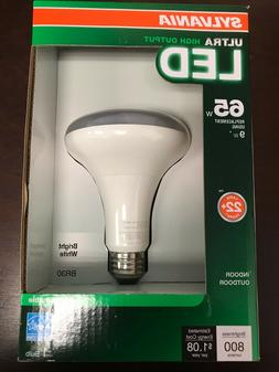 Sylvania 65W Dimmable LED Indoor and Outdoor BR30 Light Bulb