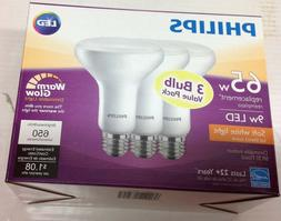 Philips 65W Equivalent 9W LED BR30 Indoor Dimmable Light Bul