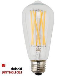 Kodak 67026-UL Edison ST-64 Dimmable LED Extra Long Filament