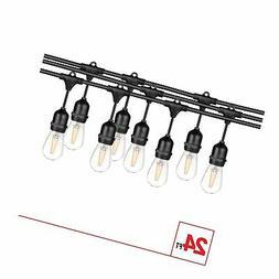 7 stringlight light bulbs black