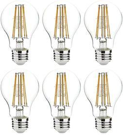 AmazonBasics 75 Watt Equivalent  Clear Non-Dimmable A19 LED