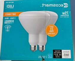 EcoSmart 75W Equivalent Soft White BR30 Dimmable LED Light B