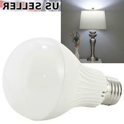 7W LED Cool Daylight White Standard Light Bulb E26 6000K 620