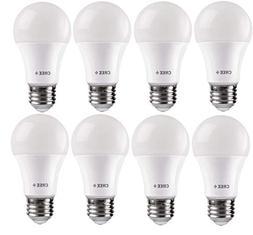 Cree 8 Pack, 60 Watt, Soft White, LED, A19 Bulbs